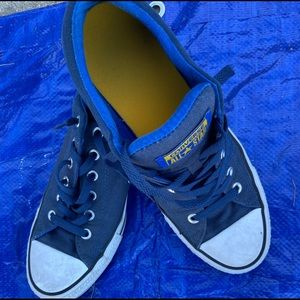 Men's Blue Converse ALL STAR